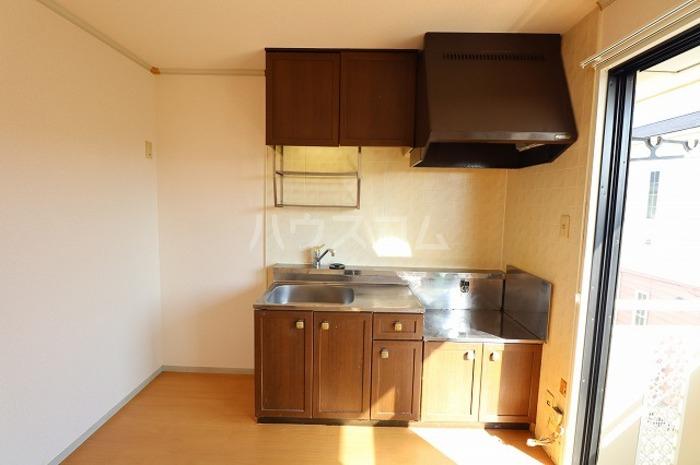 セジュールAI 202号室のキッチン