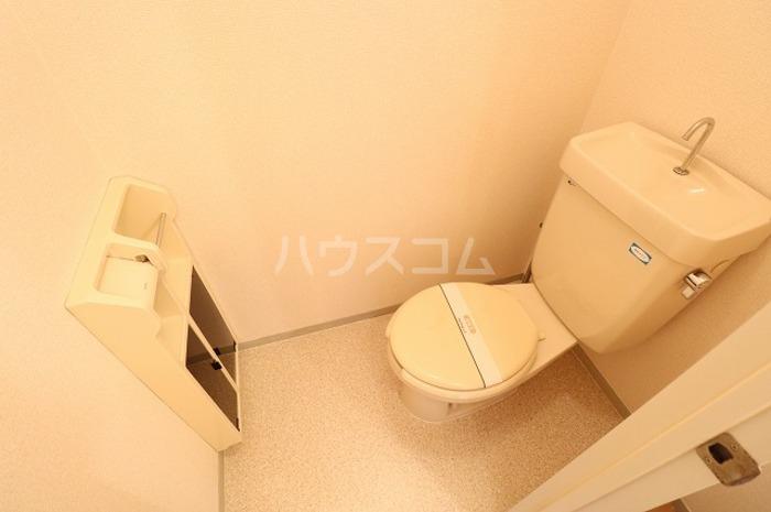 セジュールAI 202号室のトイレ
