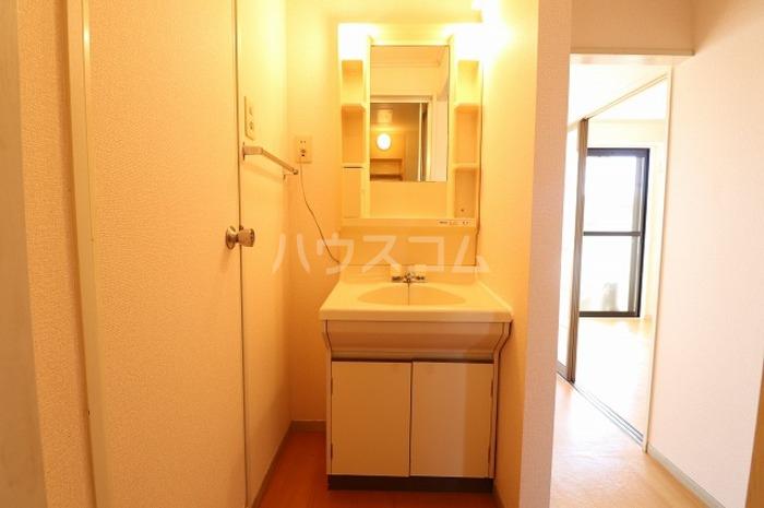 セジュールAI 202号室の洗面所