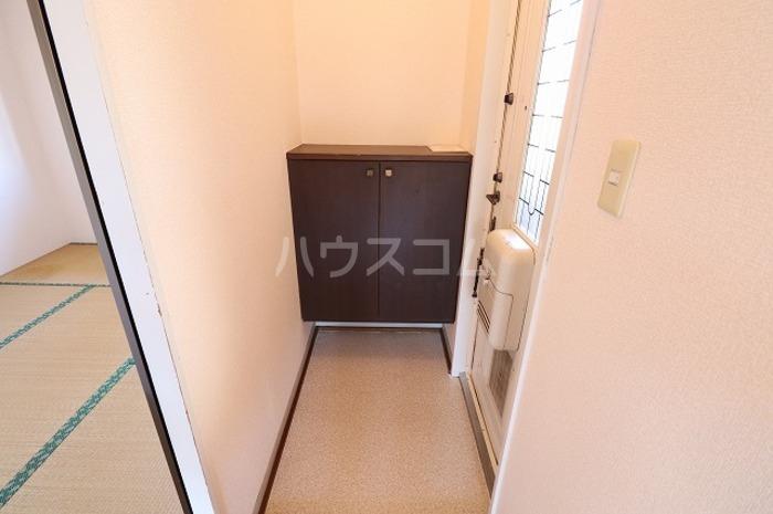 セジュールAI 202号室の玄関