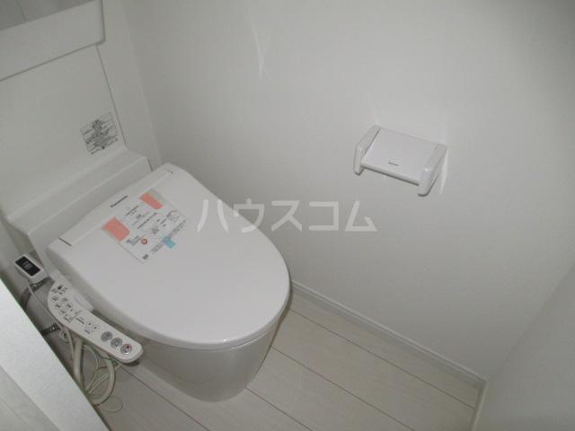 プライムテラス登戸A棟 105号室のトイレ