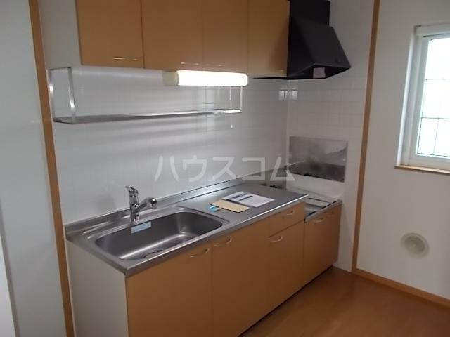 ア・ラ・モード エムⅡ 01040号室のキッチン