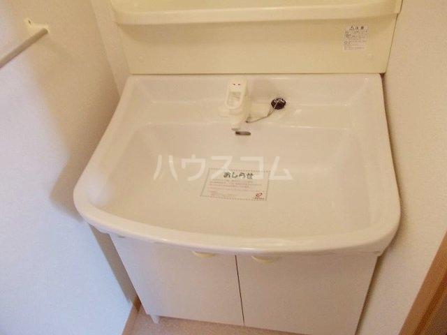 ア・ラ・モード エムⅡ 01040号室の洗面所