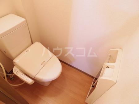 アバンウェル天久保 110号室のトイレ