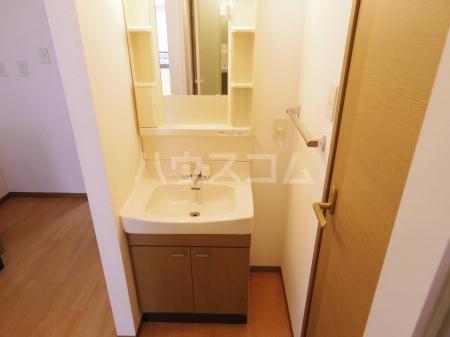 アバンウェル天久保 110号室の洗面所