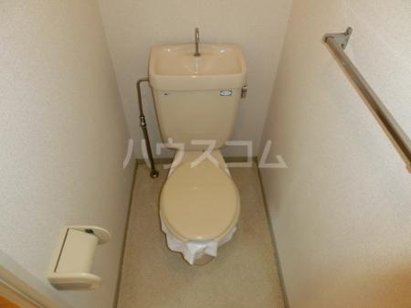 メープルハイム A 201号室のトイレ