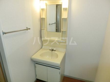 メープルハイム A 201号室の洗面所