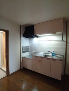 ボヌール・ポエームA 01030号室のキッチン