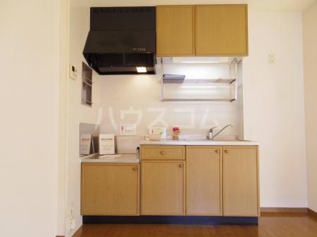 エルクレール D 102号室のキッチン
