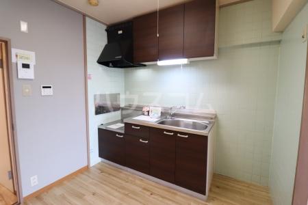 栄マンション 205号室のキッチン
