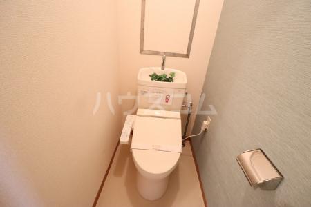 栄マンション 205号室のトイレ