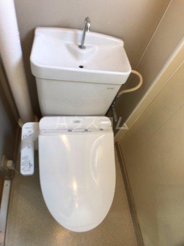 戸頭第一住宅12号棟 402号室のトイレ