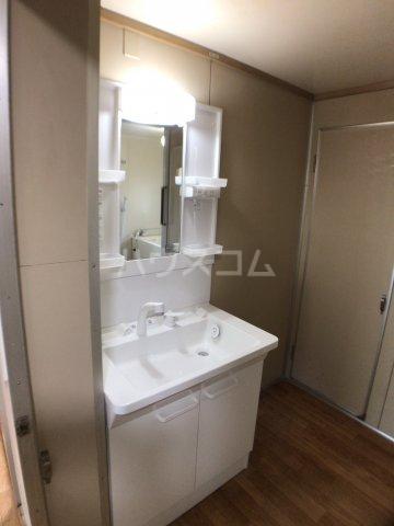 戸頭第一住宅12号棟 402号室の洗面所