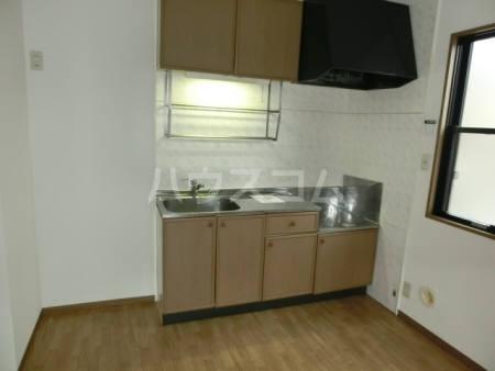 ハイカムール東台 A 101号室のキッチン
