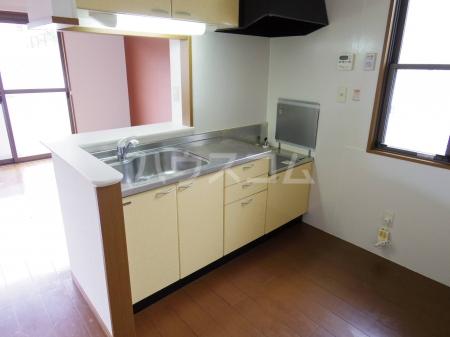 セントフォーラム 203号室のキッチン
