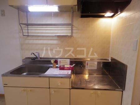 ライトハウス Ⅱ 105号室のキッチン