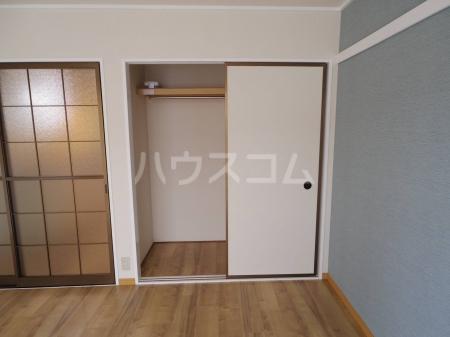 ライトハウス Ⅱ 105号室の収納