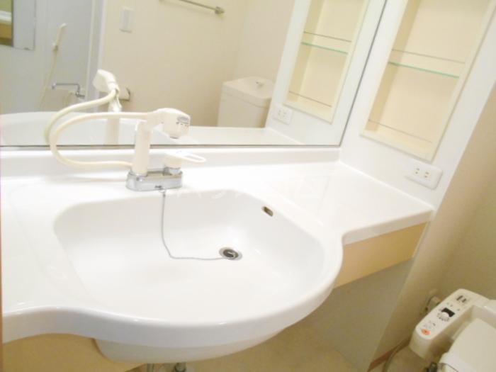 シャルマンⅢ F 102号室の洗面所