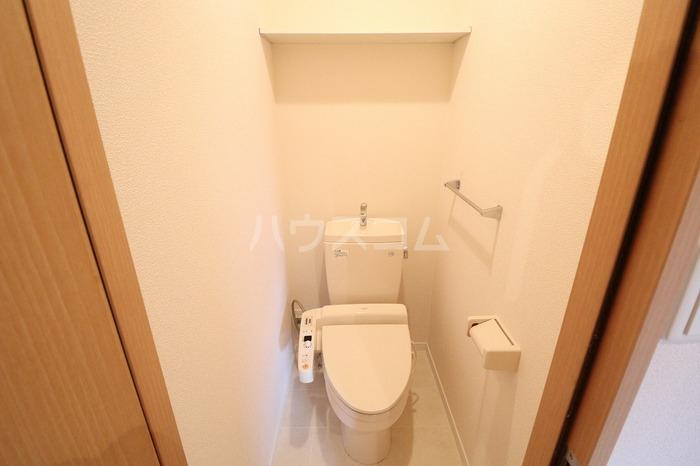 エスペランサA 102号室のトイレ