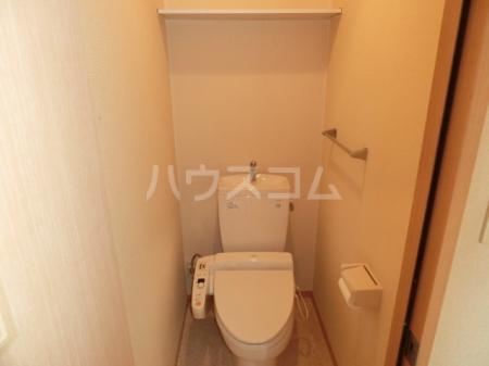 エバーグリーンハイツ Ⅲ 102号室のトイレ