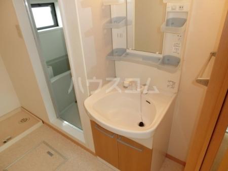 エバーグリーンハイツ Ⅲ 102号室の洗面所