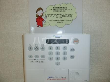 モンブラン 105号室のセキュリティ
