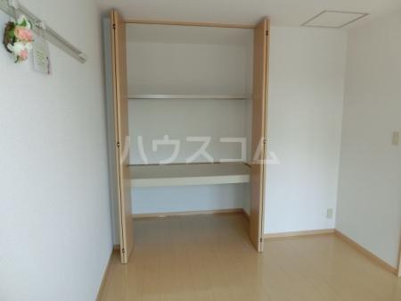 ボヌールB 202号室の収納