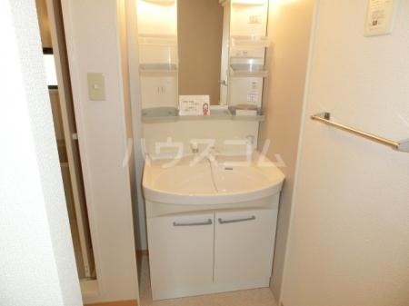 ボヌールB 202号室の洗面所