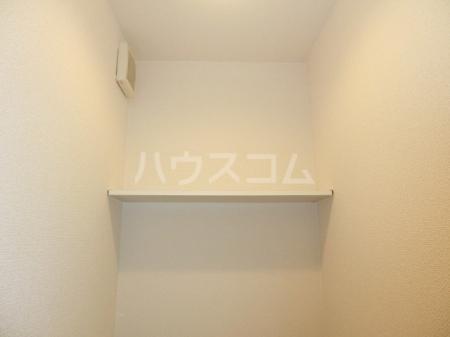 ボヌールB 202号室のトイレ