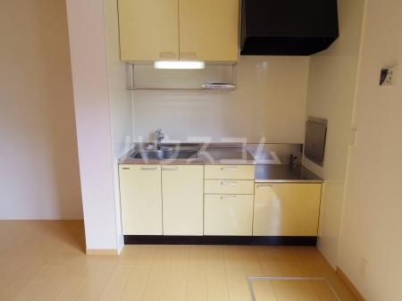 グランドソレイユ A 102号室のキッチン