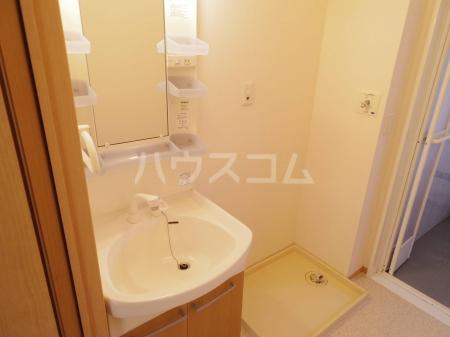 グランドソレイユ A 102号室の洗面所