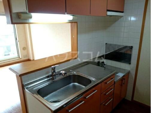 ボヌールフォンテーヌ 03010号室のキッチン