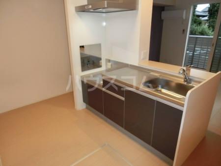 モンブラン 102号室のキッチン