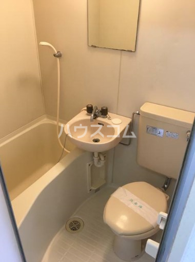 レジデンスGOTO 108号室のトイレ