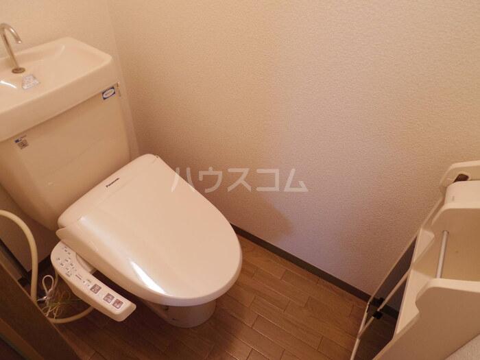 セジュール久津見 202号室のトイレ