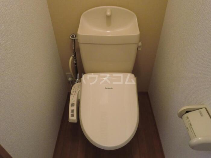 プランドール鈴木 101号室のトイレ