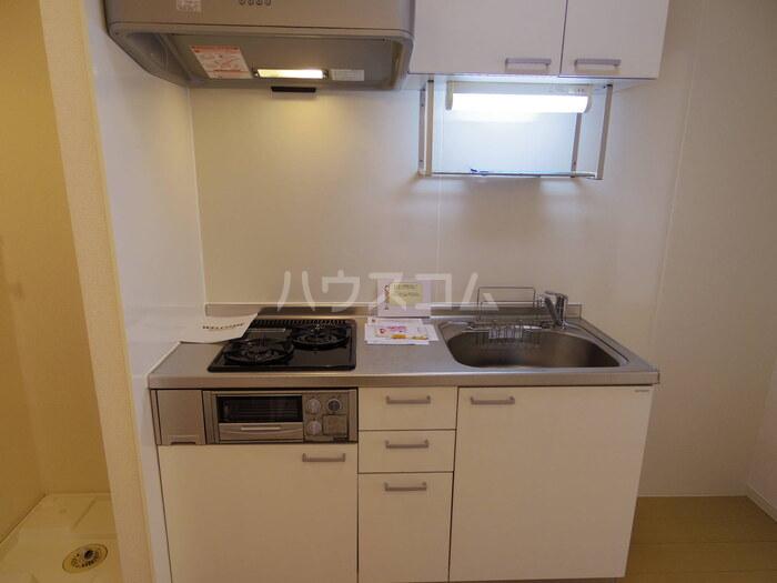 フラワーハイム 103号室のキッチン