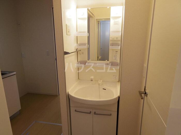 フラワーハイム 103号室の洗面所