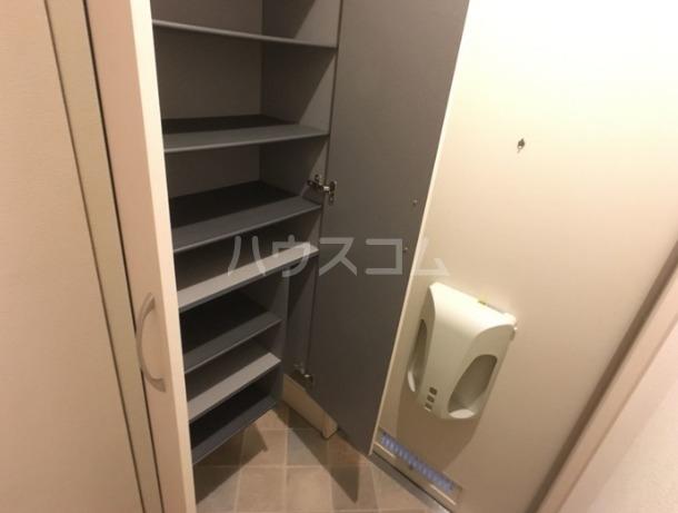 ラマージュⅢ 205号室のバルコニー
