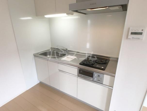ラマージュⅢ 205号室のキッチン