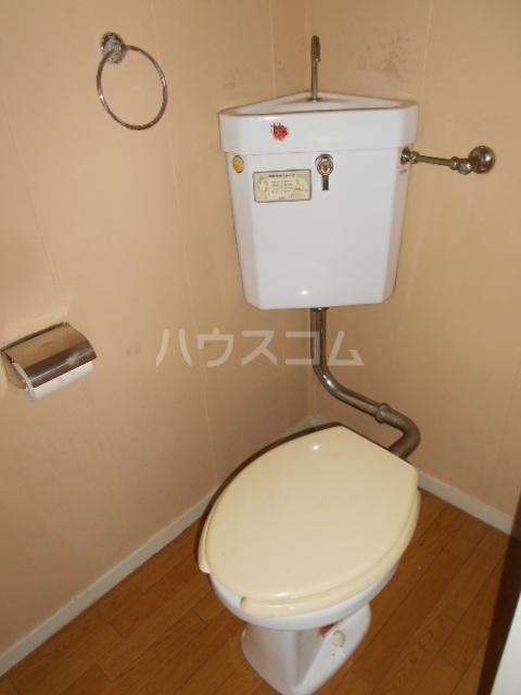 川本コーポ中屋敷 203号室のトイレ