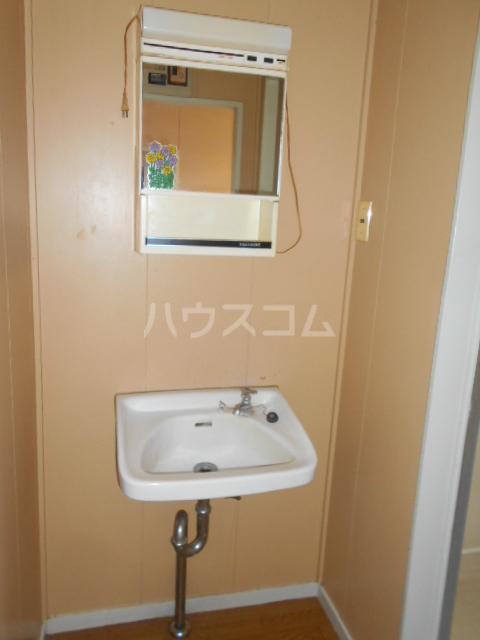 川本コーポ中屋敷 203号室の洗面所