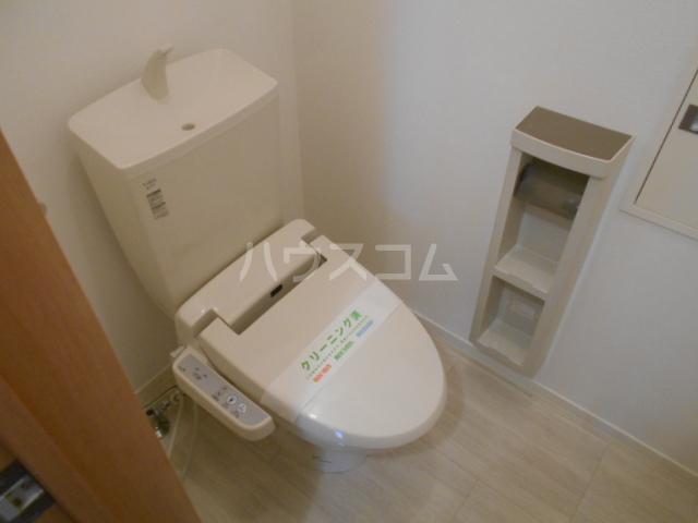 メゾン・ド・ソレイユ 101号室のトイレ