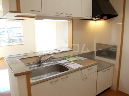 カーサ パストラル 02030号室のキッチン