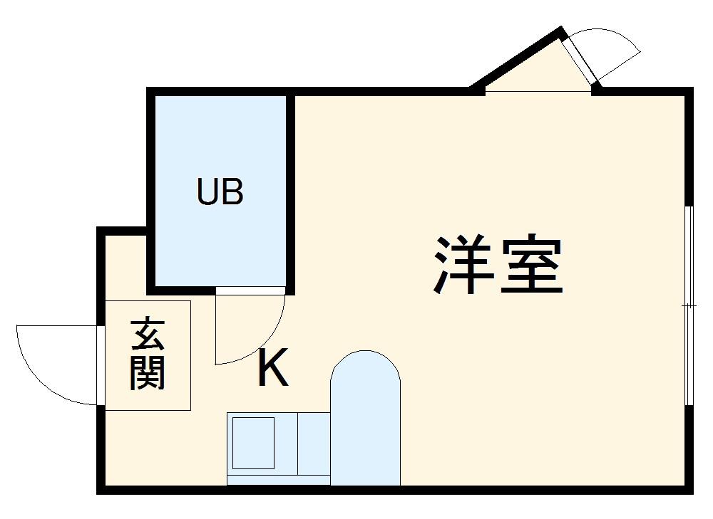 ベルピア・鶴ヶ峰第2・201号室の間取り