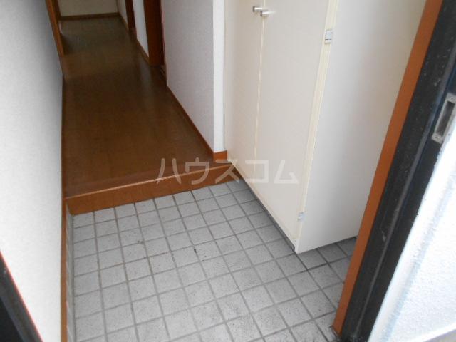 小沢ハイツ 303号室の玄関