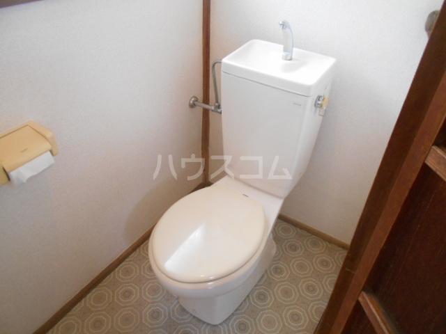 みかど荘 貸家のトイレ