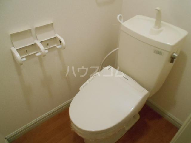 ソレイユ 102号室のトイレ