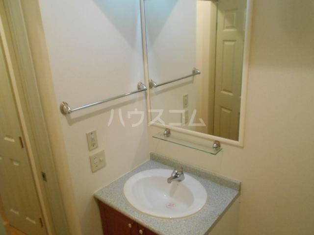 ソレイユ 102号室の洗面所