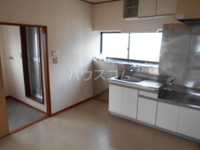 スカイコートB 202号室のキッチン